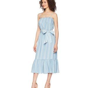 NWT BB Dakota Tailyn Chambray Midi Dress